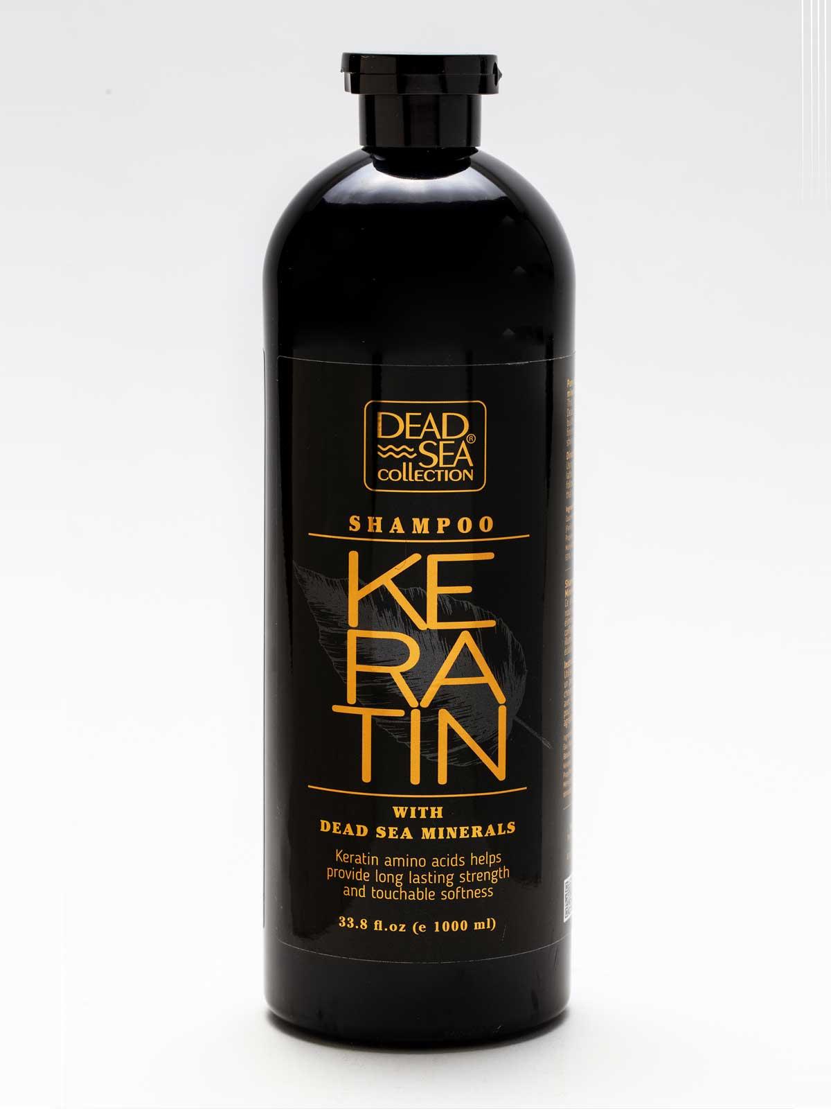 Keratin Mineral Shampoo Dead Sea Collection