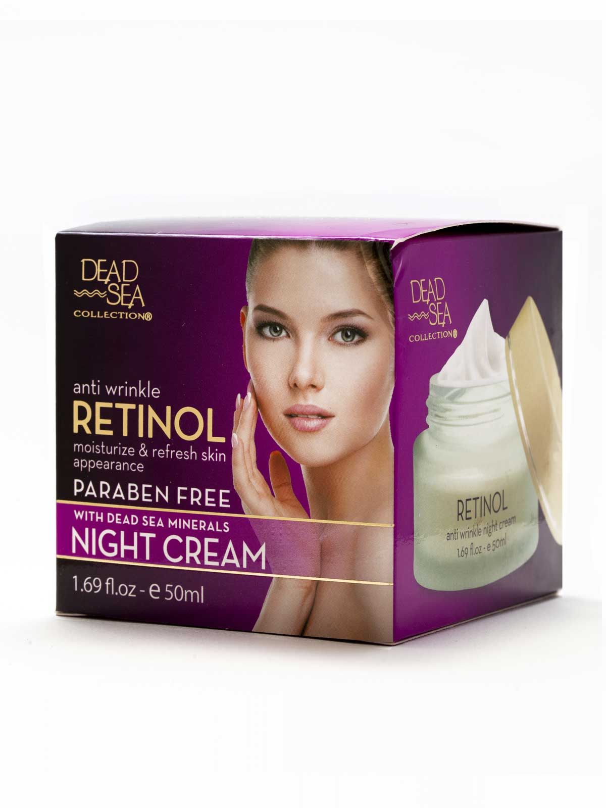 Retinol Anti Wrinkle Night Cream | Dead Sea Collection