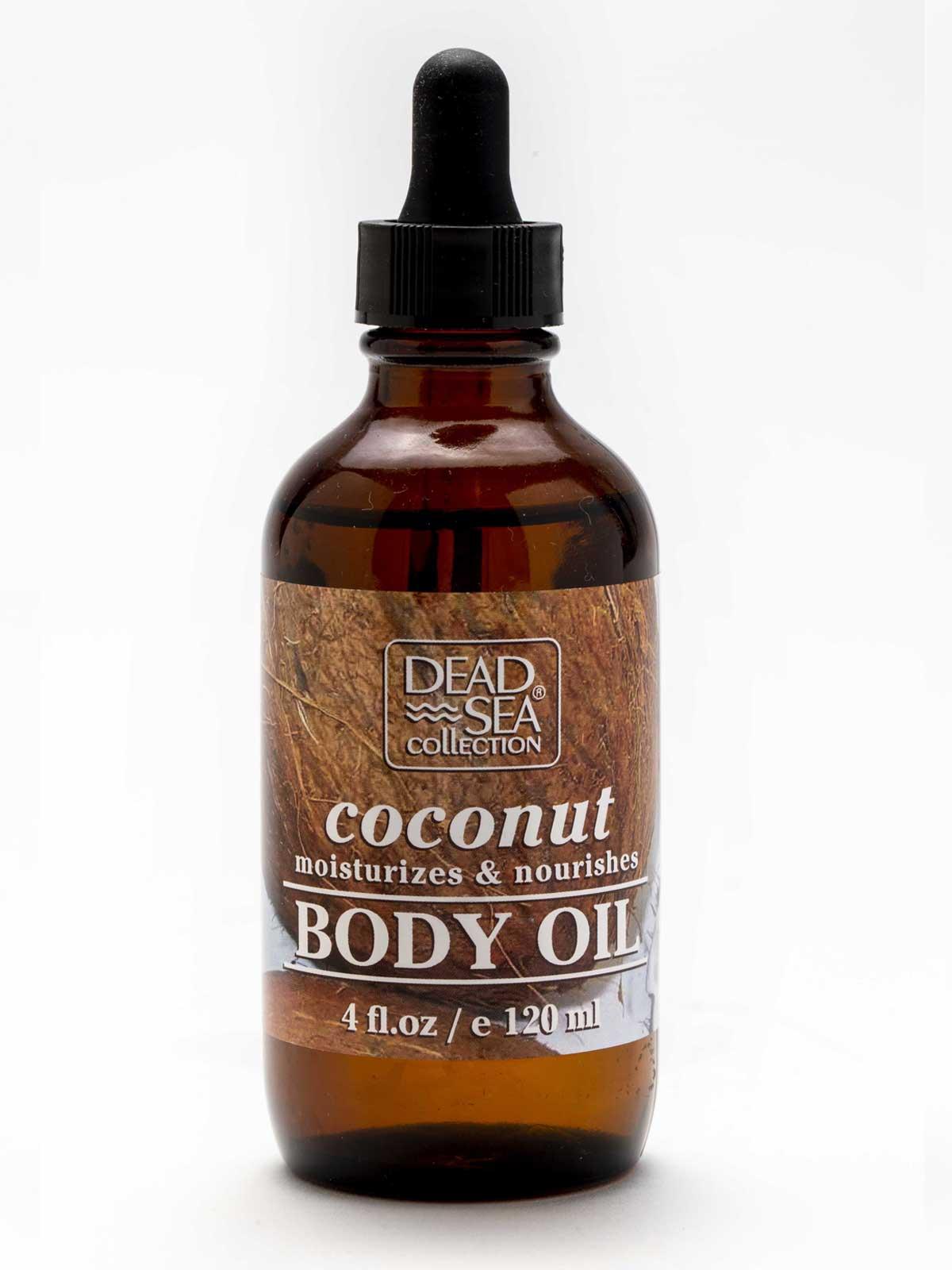 Coconut Body Oil Dead Sea Collection